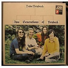 """DAVE BRUBECK """"TWO GENERATIONS OF BRUBECK"""" - LP"""