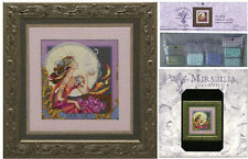 MIRABILIA Cross Stitch PATTERN and EMBELLISHMENT PACK Silver Moon Tea MD119
