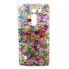Cute Bling Emoji Patterned Silicone Cell Phone cases Skins Covers For LG G4