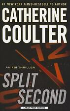 Split Second 15 by Catherine Coulter (2012, Paperback, Large Type)
