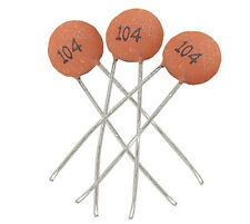 Durable 100pcs/bag Ceramic Disc Capacitors 50V 100nF 0.1uF 104pF Hot 3C1