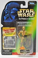 Kenner Star Wars Power of the Force C-3PO w/ Cargo Net Action Figure 1997 NIP