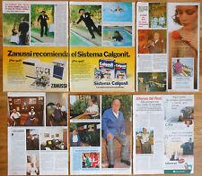 ALFONSO DEL REAL coleccion prensa 1970s/90s clippings fotos revista cine español