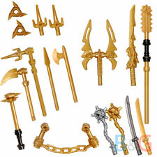 LEGO Ninjago Set/13 Golden Weapons Set - Spinjitzu weapons Shuriken Dragon Sword