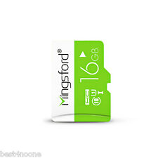 16GB Mingsford Micro SD Card UHS - I Flash Memory Device for Digital Device