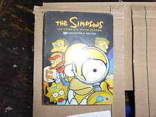 The Simpsons  Series 6  Complete (DVD, 2005, 4-Disc Set) COLLECTORS EDITION NEW