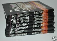 Faith and Confession by Charles Capps (LOT OF 7 BOOKS) BRAND NEW!!!