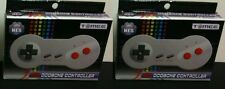 TWO NEW  DOG BONE CONTROLLERS FOR 8 BIT NES NINTENDO MADE BY TOMEE NEW IN BOXES