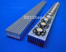 High Power LED aluminum Heatsink 300mm*25mm*12mm for 1W,3W,5W led emitter diodes