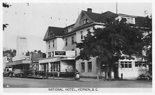 Photo. ca 1944. Vernon, BC Canada.  National Hotel