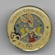 DISNEY ROGER RABBIT SURPRISE CELEBRATION RIDE WDW 1991 20th ANNIVERSARY PIN NEW