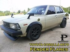 NEW Fender Flares Wheel arch premium sheet metal For TOYOTA COROLLA KE70
