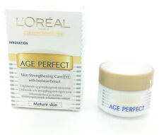 3 X L'Oreal Age Perfect Skin Strengthening Care Eye Cream  15ml (EU PACK)