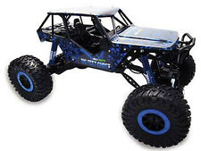 "RC rock Crawler ""Crazy Crawler"" m 1:10 4wd proporcional gas 41cm azul"