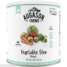 Augason Farms Emergency Disaster Survival Food Meal Vegetable Stew Blend Mix