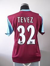 Carlos TEVEZ #32 West Ham United Home Football Shirt Jersey 2006/07 (M)