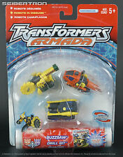Destruction Mini-Con Team BUZZSAW DRILL BIT DUALOR Transformers Armada New