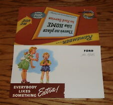 1946 Ford Everybody Likes Something Extra Approved Accessories Brochure 46