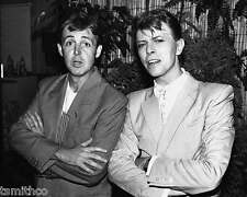 Paul McCartney and David Bowie 8x10 Photo 022