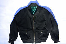 MEN'S VINTAGE HUGO BOSS WOOL/CASHMERE BLACK JACKET! QUILTED LINING! WARM! 42