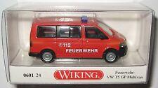 Wiking 060124 VW T5 GP Fensterbus Feuerwehr 1:87 HO