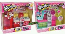 Shopkins Fashion Spree Shoe Dazzle & Makeup Spot Playsets Lot of 2 New