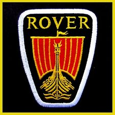 ROVER Advertising Iron on Patch British Car Land Rover Freelander Automobile P4