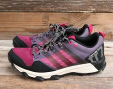 adidas Womens Kanadia 5 TR M Trail Running Shoe Purple Pink Black US 9 NEW!