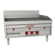"Magikitchn MKE-48-ST 48"" Electric Countertop Griddle with Solid State Thermostat"