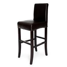 Tabouret de bar design siège pour bar marron chaise chaises tabourets neuf