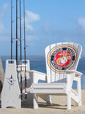 Engraved Adirondack Chair - United States Marine Corps.