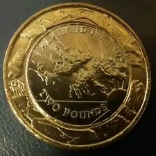 FALKLAND ISLANDS MILLENIUM £2 UNC 2004 COIN