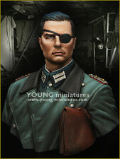 Young Miniatures Operation Valkyrie WW2 1/10th Bust YM1854 Unpainted kit