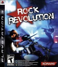 ROCK REVOLUTION PS2 COMPLETE GAME (MINT CONDITION, TESTED, GUARANTEED TO WORK)