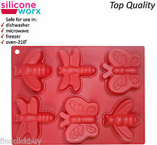 Butterfly & Friends Silicone Pan Cup Cake Baking Tray Chocolate Mould NON STICK