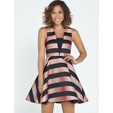 BNWT Myleene Klass Bold Stripe Full Skirt Prom Dress Size 16 RRP £74