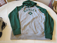 Hurley hoodie hoody shirt long sleeve Men's L large MFT0003290 RBI Fleece 39Y