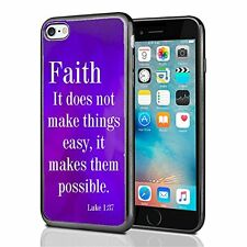 Religious Faith Scripture For Iphone 7 Case Cover By Atomic Market