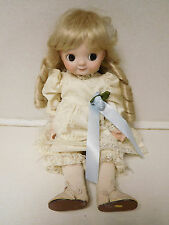Vintage Heubach Porcelain Googly Eyes Doll Clothes Wig Needs Repair