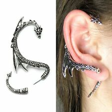 1PC Fashion Gothic Punk Vintage Style Fly Dragon Ear Cuff Wrap Clip Earring