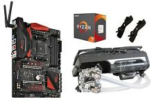 AMD Ryzen CPU Bundle with Ryzen 7 1800X CPU, ASRock Mobo, and Swiftech Cooler!!