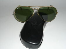 Top estado! vintage ray ban estados unidos B & l aviator 62 14 RB 3 lenses with RB Hard Case