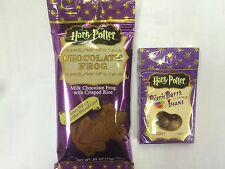 JELLY BELLY Harry Potter BERTIE BOTTS Bean Boozled Jelly Beans & CHOCOLATE FROG