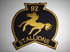 US 92nd Assault Helicopter Company STALLIONS Vietnam War Patch