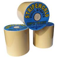 40mm Beige Vinyl Stripe for car  caravan or boat sold by the metre