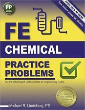 FE Chemical Practice Problems by Michael R. Lindeburg (2016, Paperback, New...