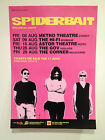 SPIDERBAIT 2014 Australian Tour Poster A2 Tonight Alright Greatest Hits **NEW**