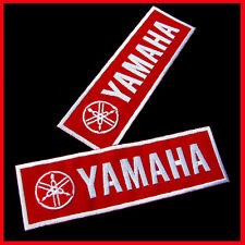 1 x YAMAHA Motor Racing Embroidered Advertising Iron Patch MotoGP YZR-M1 Biker