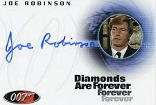 JAMES BOND DANGEROUS LIAISONS JOE ROBINSON IN DIAMONDS ARE FOREVER AUTOGRAPH