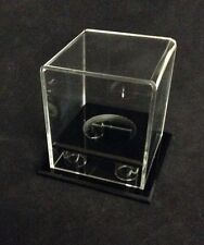 Clear Acrylic Lucite Display Case For Baseball Memorabilia Or Collectibles